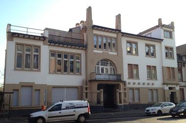 Gebäude Aussen Weiß